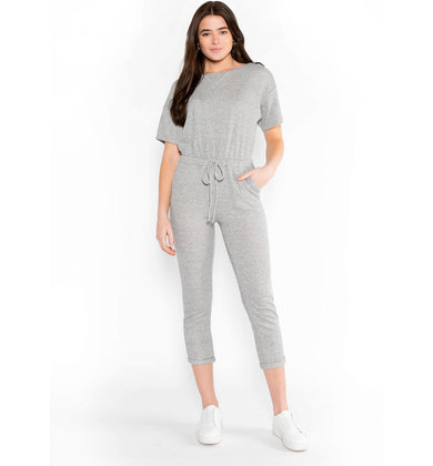 WELL LOVED JUMPSUIT - GREY