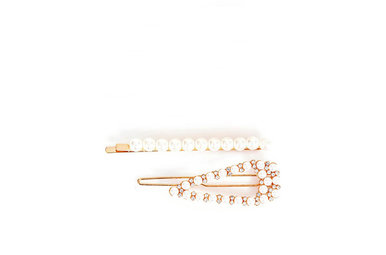 I'M YOURS PEARL HAIR CLIPS