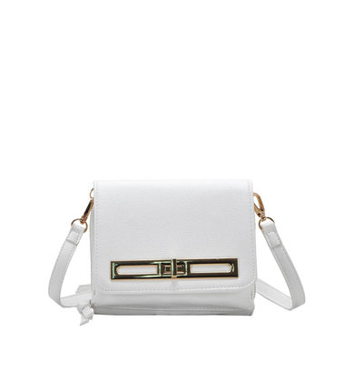 NOT FOR LONG WHITE CROSSBODY