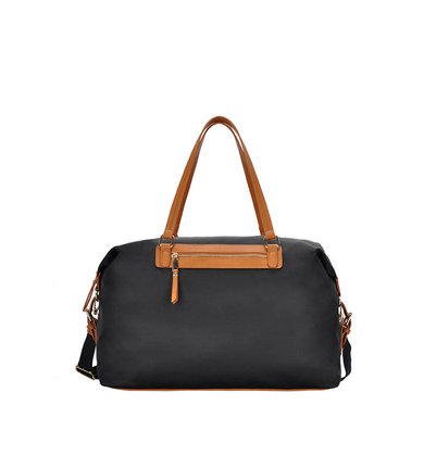 TRAVEL PLANS BLACK TRAVEL BAG