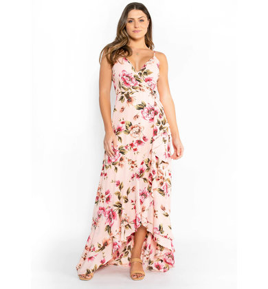 PAINT THE PICTURE MAXI DRESS