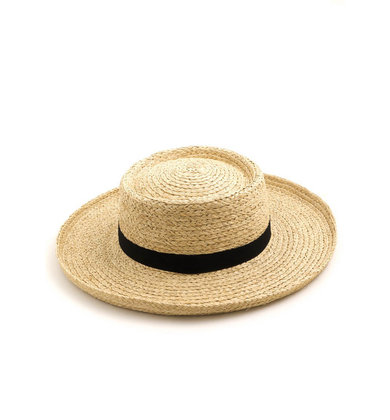 HIDDEN PARADISE STRAW HAT