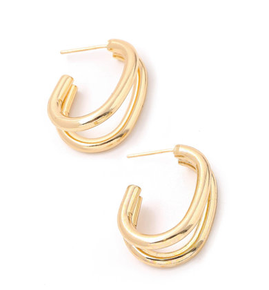 VIEWPOINT HOOP EARRINGS