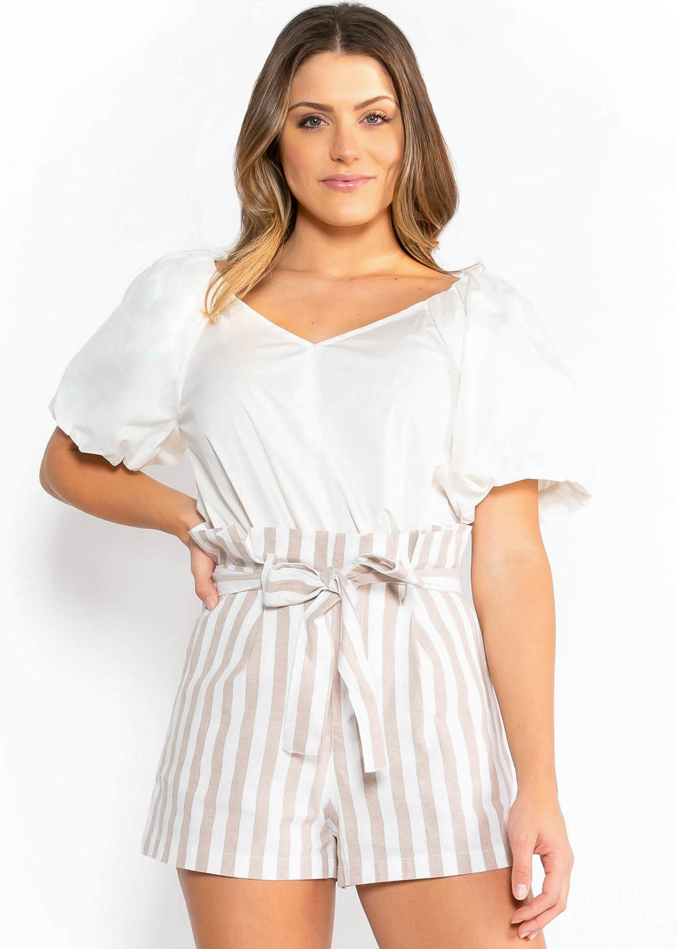 STATE OF STYLE BLOUSE - WHITE