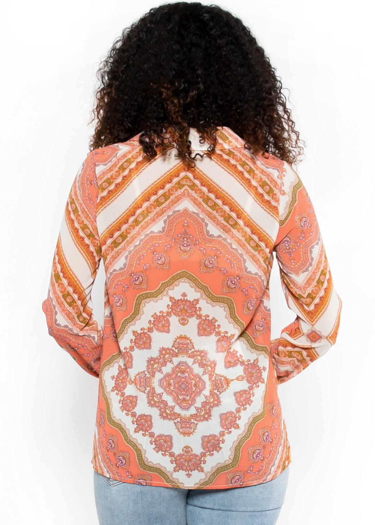 DROPS OF JUPITER PAISLEY BLOUSE