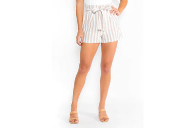 OH SO SWEET STRIPED SHORTS