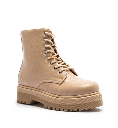 TURN BACK TIME COMBAT BOOTS