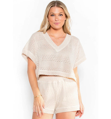 SWEET TOUCH CROCHET TOP