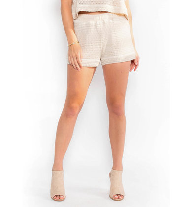 SWEET TOUCH CROCHET SHORTS