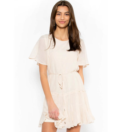COUNTING DAISIES DRESS - CREAM
