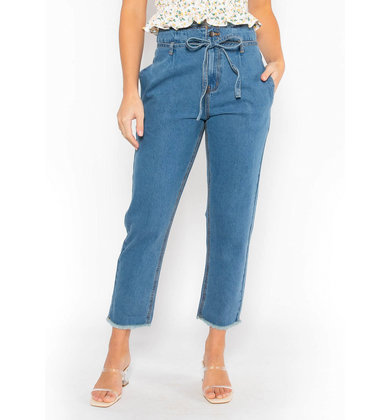 THINK OF ME STRAIGHT LEG JEANS