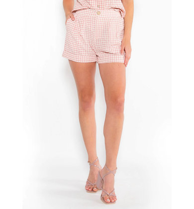 MARKET FRESH PLAID SHORTS
