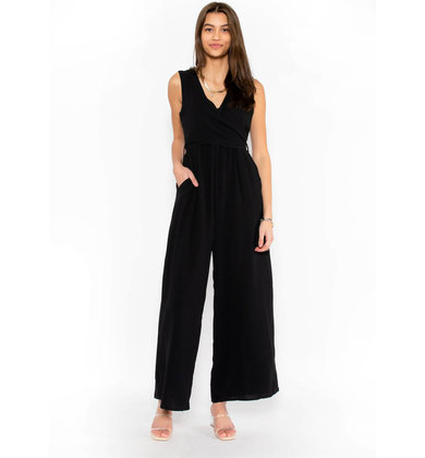 GOODBYE WISH BLACK JUMPSUIT
