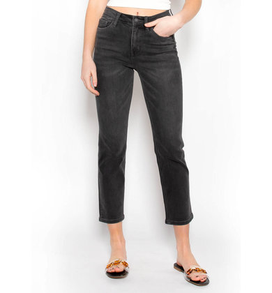 CAMILLE FADED BLACK JEANS