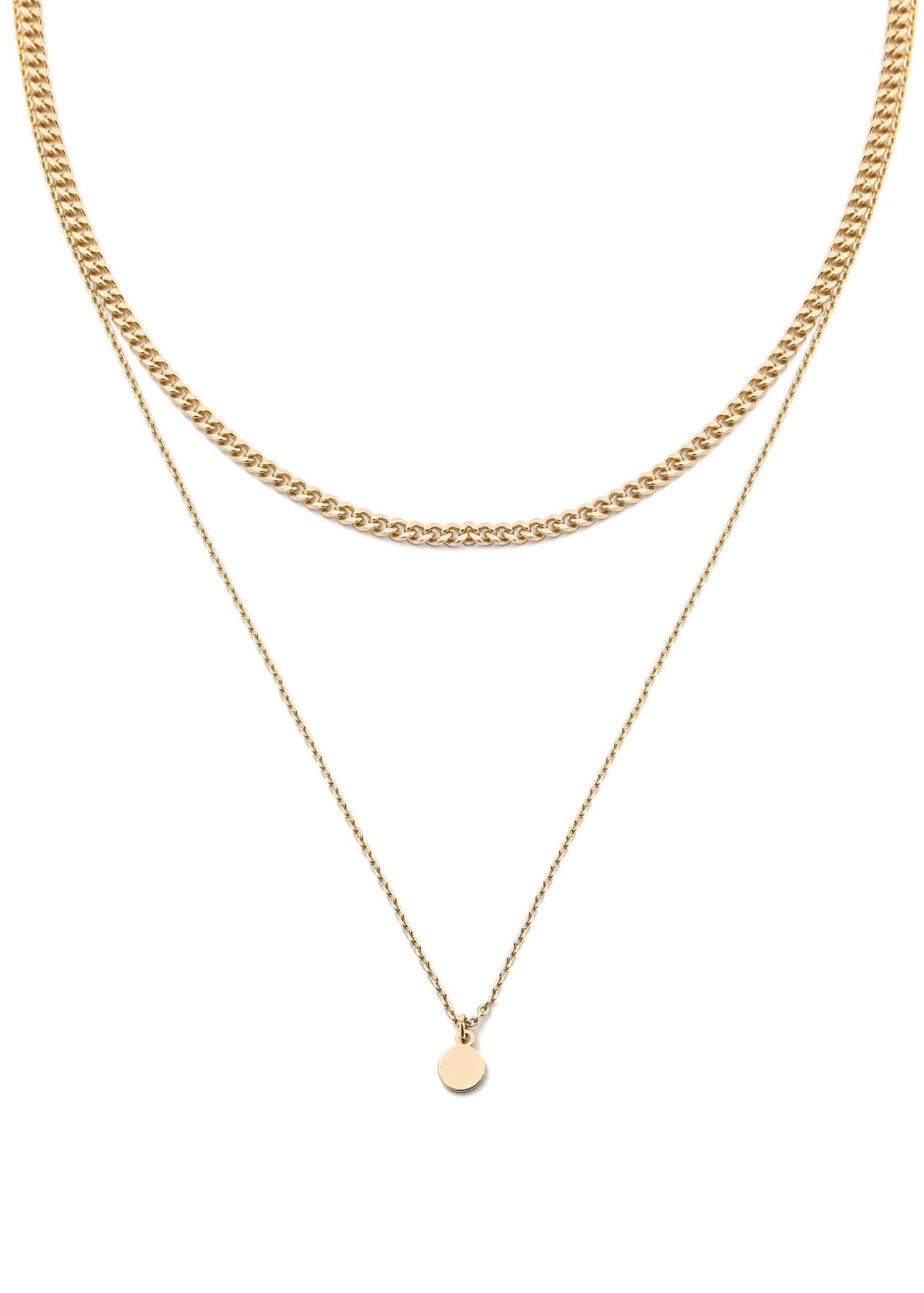 NEVER BETTER LAYERED NECKLACE