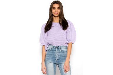 WHEN SPRING ARRIVES KNIT TOP