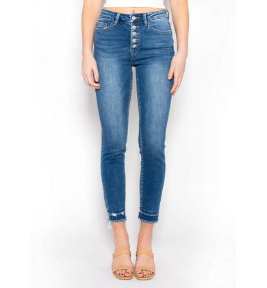 NOKOMIS BUTTON FLY JEANS