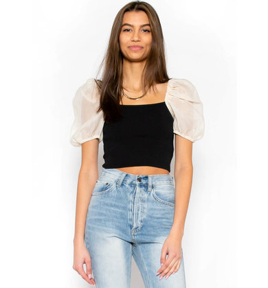 FROM THE SOURCE CROP TOP
