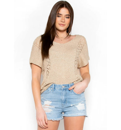 FINDING PARADISE KNIT TOP