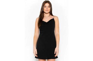 STOLEN DREAMS DRESS - BLACK
