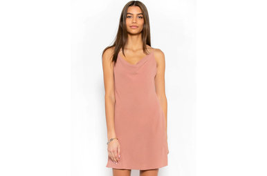 STOLEN DREAMS DRESS - MAUVE