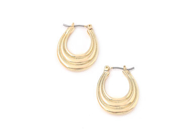 ON YOUR MIND GOLD EARRINGS