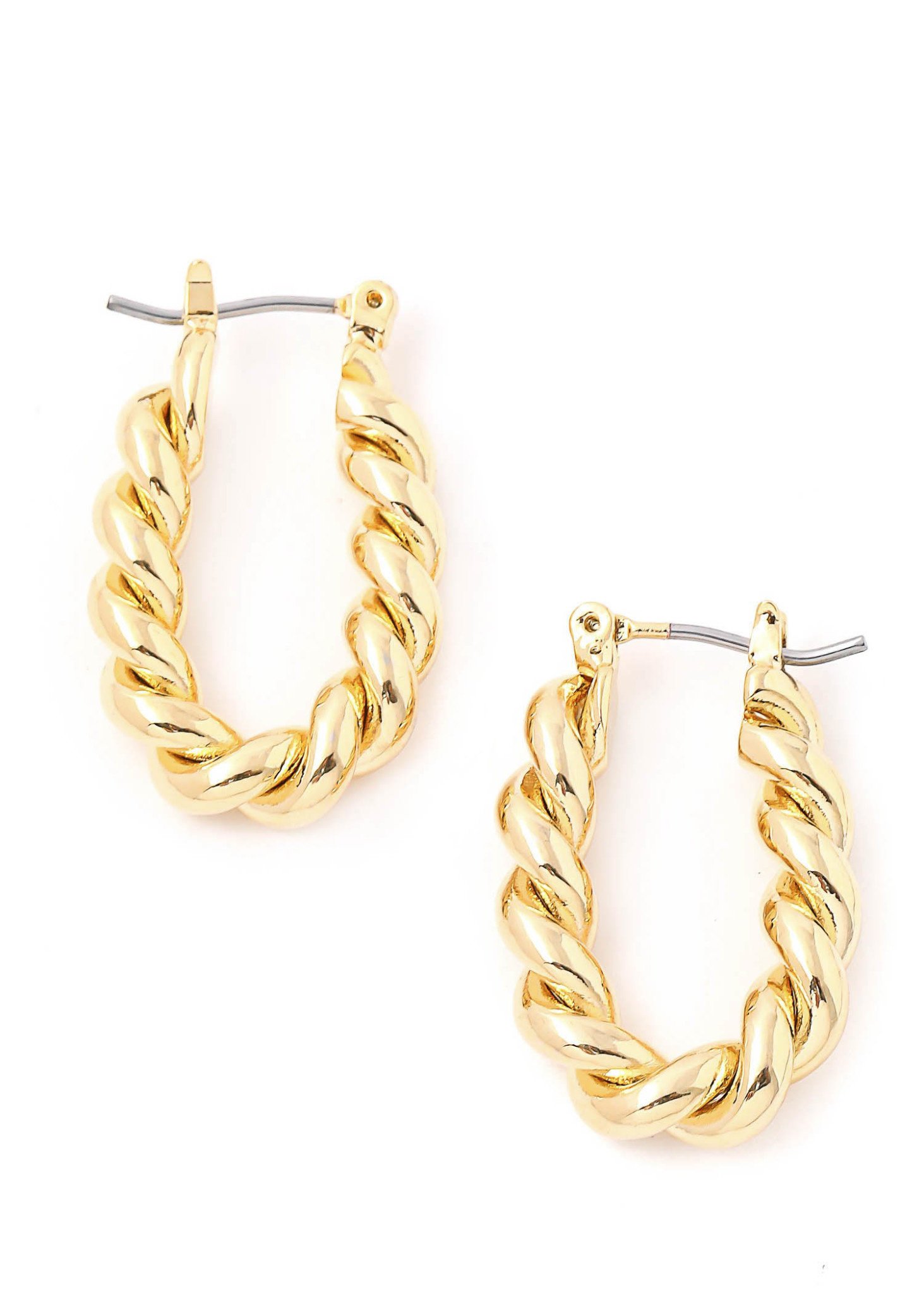 RADIANCE TEXTURED HOOPS