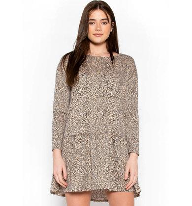 LITTLE BY LITTLE LEOPARD DRESS