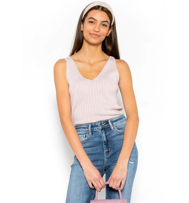 PROM QUEEN KNIT TANK TOP