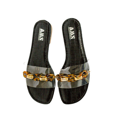 ISLAND TIME CLEAR SANDALS