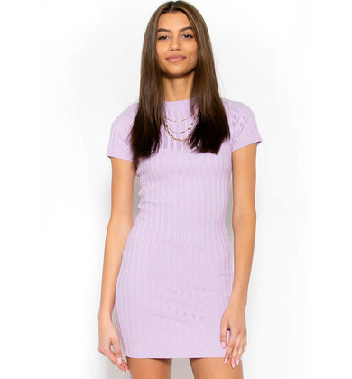 DIFFERENT CITIES DRESS - LILAC