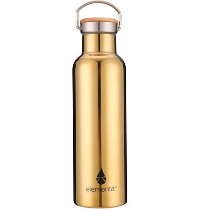ROUTINE GOLD WATER BOTTLE