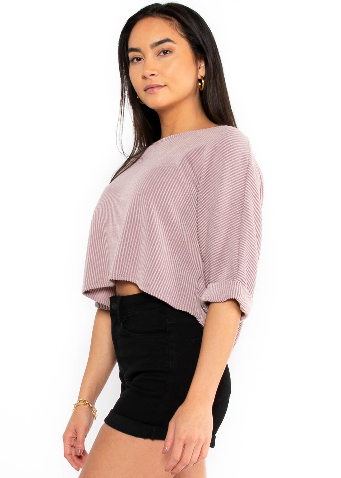 HERE'S TO TODAY CROPPED TOP