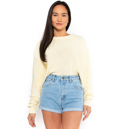 CHASING DAISIES CROPPED SWEATER