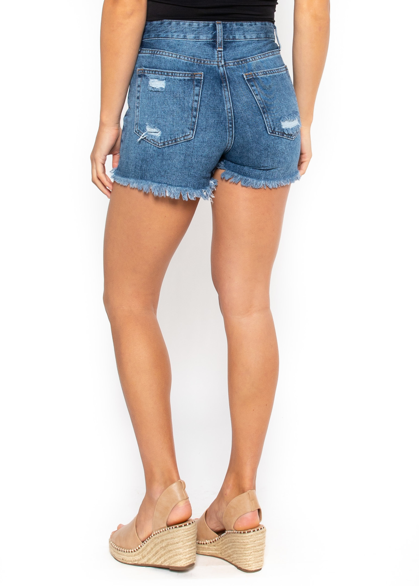 COSTA RICA DISTRESSED SHORTS