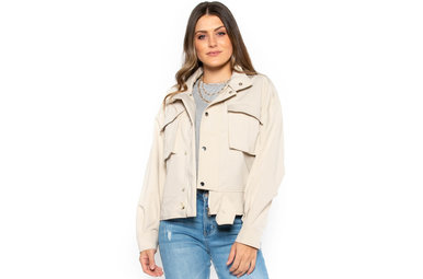 DOWNTOWN WALKS BEIGE JACKET