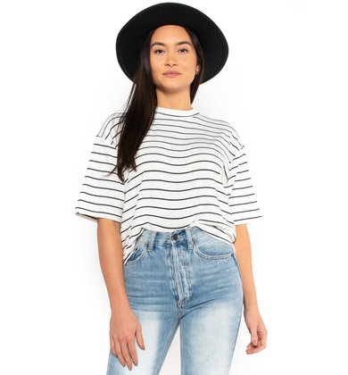 PARK CITY STRIPED TOP