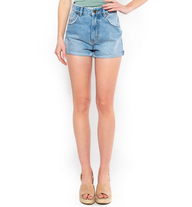 PASADENA CUFFED DENIM SHORTS