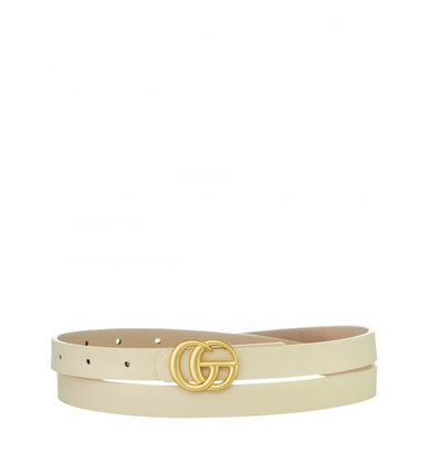 TINLEY THIN BELT - CREAM