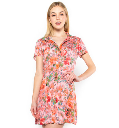 CASABLANCA PRINTED DRESS