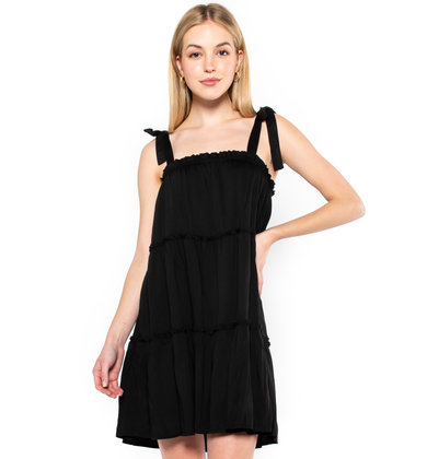 HELLO MOROCCO DRESS - BLACK