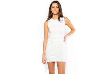 EVERYDAY FLIRT DRESS - WHITE