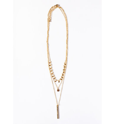 TREND ZONE LAYERED NECKLACE