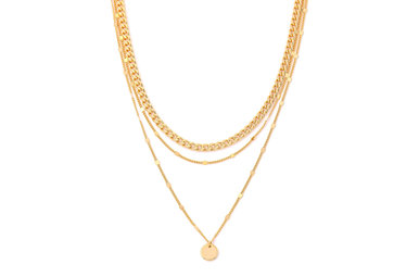 THE WORKS LAYERED NECKLACE