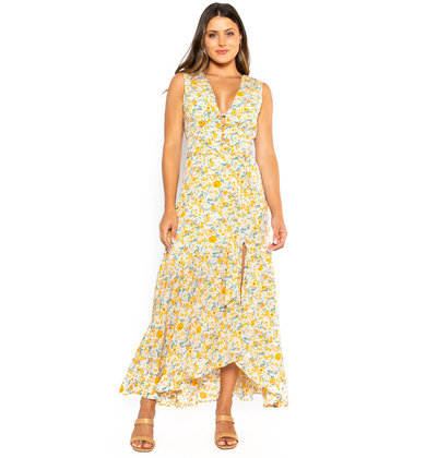 FIELD OF VIEW FLORAL DRESS