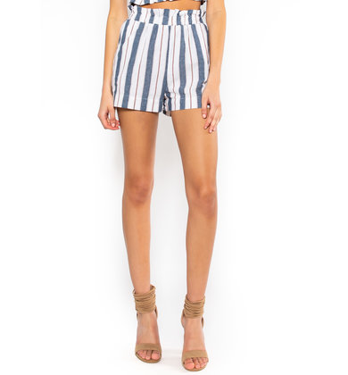 KEY LARGO STRIPED SHORTS