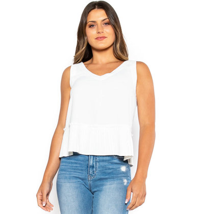 CHARMING EFFECT TANK TOP