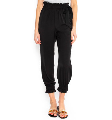 FORWARD THINKING BLACK JOGGERS