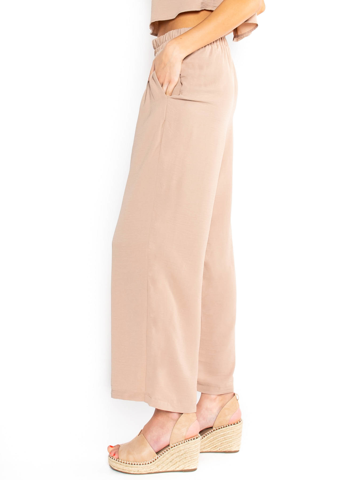 CASUAL RETREAT BOTTOMS - TAUPE