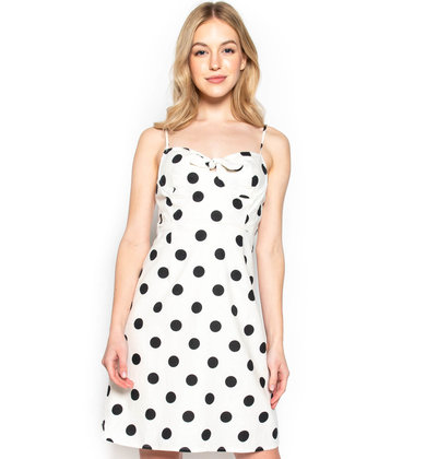SHIMMY + SHINE POLKA DOT DRESS